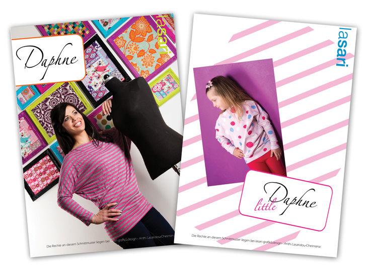 Kombi E-Book Daphne & littleDaphne - Nähanleitungen bei Makerist sofort runterladen