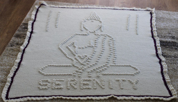 Download Serenity Buddha Afghan - Crochet Patterns immediately at Makerist