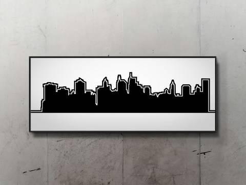 Plotterdatei NEW YORK SKYLINE bei Makerist sofort runterladen