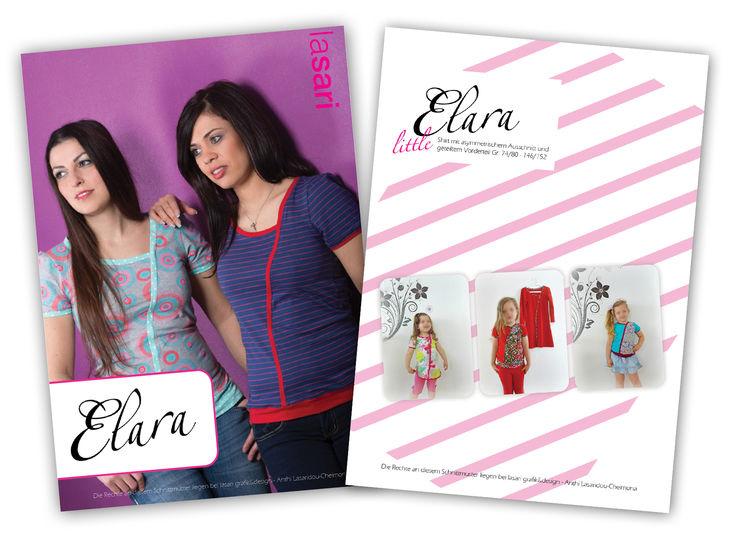 Kombi E-Book Elara & littleElara - Nähanleitungen bei Makerist sofort runterladen