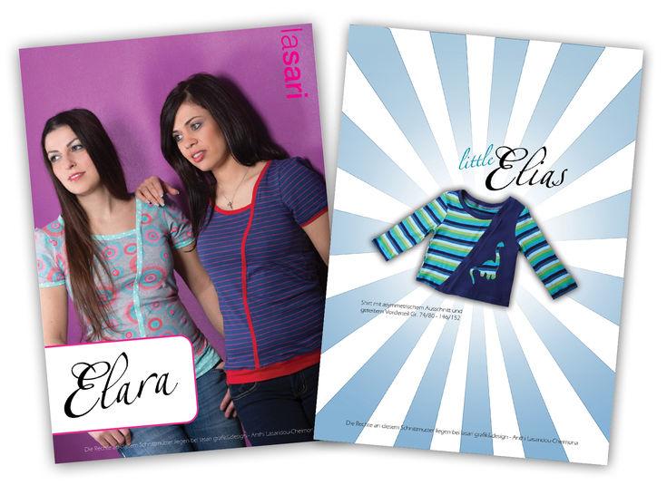 Kombi E-Book Elara & littleElias - Nähanleitungen bei Makerist sofort runterladen