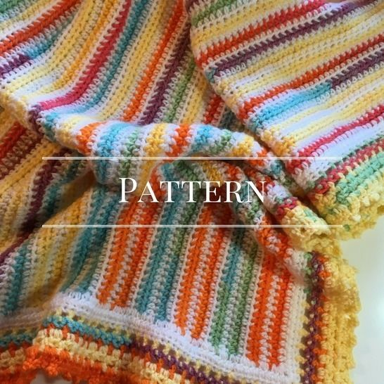 Download Beachy Baby Blanket - Crochet Patterns immediately at Makerist