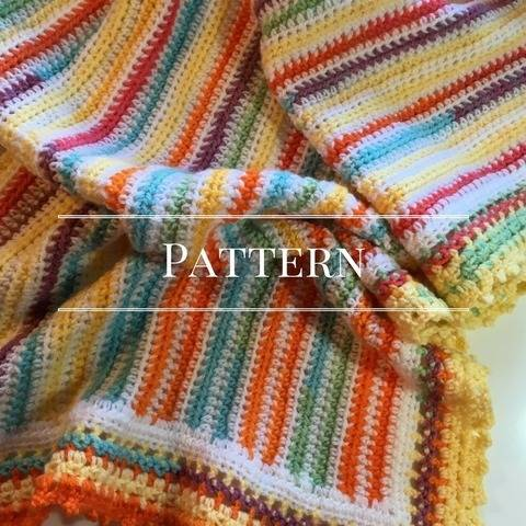 Download Beachy Baby Blanket immediately at Makerist