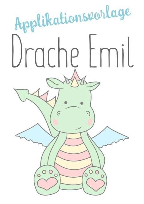 Applikationsvorlage Drache Emil mit Gewerbelizenz bei Makerist sofort runterladen
