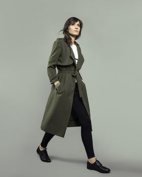 Download LONDRES trench-coat/jacket - sewing pattern with detailed instructions - Sewing Patterns immediately at Makerist