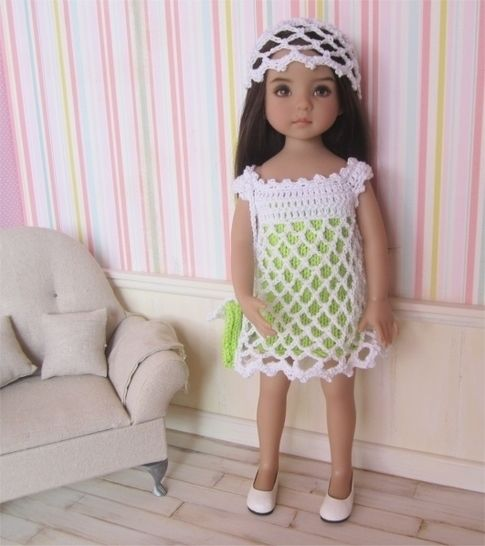 Download Anis: knit and crochet outfit for 32-34cm dolls - Crochet Patterns immediately at Makerist