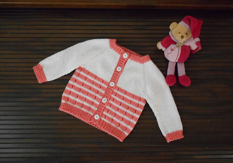 Download La Flotte en Re - cardigan for babies and girls - Knitting Patterns immediately at Makerist