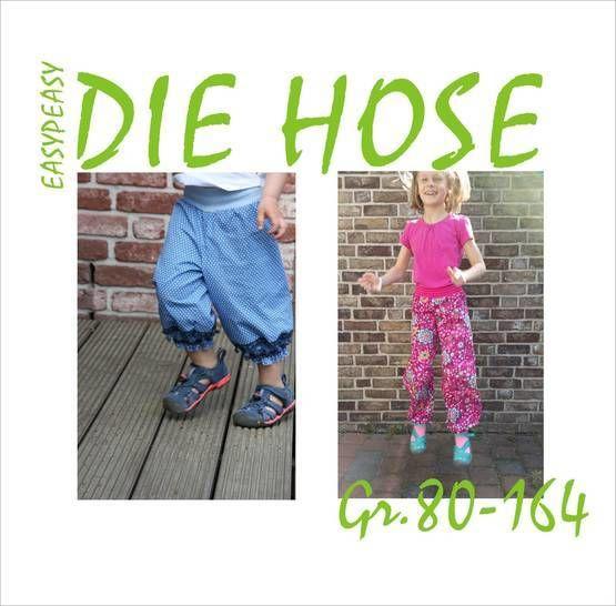 EasyPeasy - Die Hose, Gr. 80-164 - Nähanleitungen bei Makerist sofort runterladen