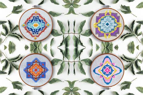 Geometrie Set Kreuzstich bei Makerist sofort runterladen