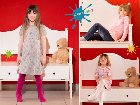 Download PDF Sewing Pattern for Girls' Basic Shirt and Dress with Sleeves - *Girly* - Sewing Patterns immediately at Makerist