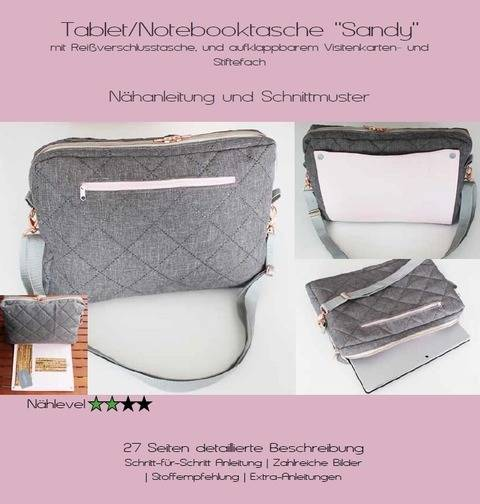 Ebook Notebooktasche/Tablettasche Sandy bei Makerist sofort runterladen