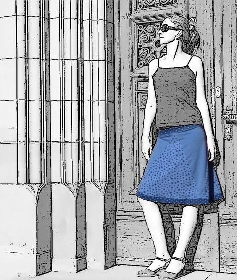Triantan Rock nach Mass selbst schneidern Mädchen 128-Damen 60 bei Makerist sofort runterladen