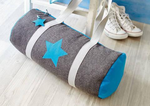 Sporttasche mit Gurtband Nähanleitung bei Makerist sofort runterladen
