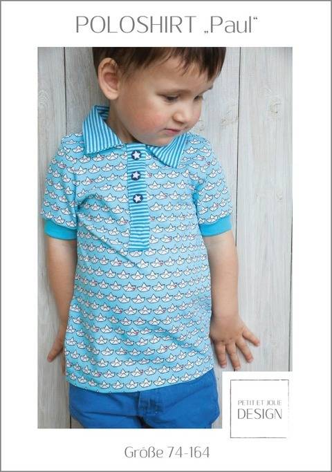 "POLOSHIRT ""Paul"" Gr. 74-164 - Ebook ""Petit et Jolie Design"" bei Makerist sofort runterladen"