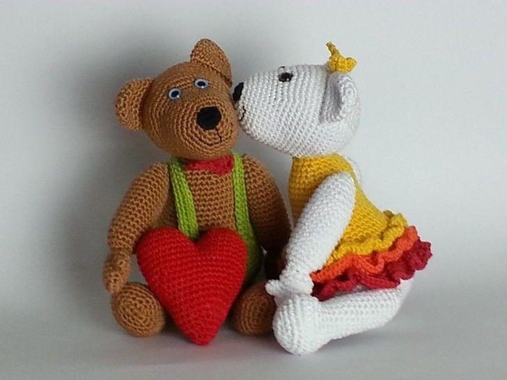 Valentin & Valentina Häkelanleitung - Häkelanleitungen bei Makerist sofort runterladen