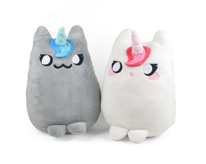 Download Mewnicorn Cat Kitty Unicorn Pillow Plush Stuffed Toy - Sewing Patterns immediately at Makerist