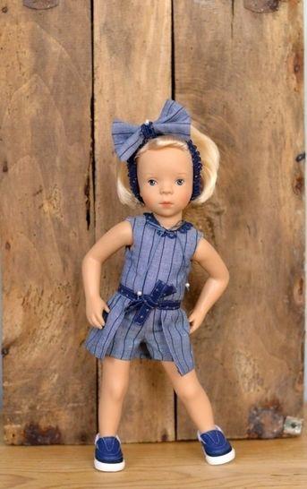 """Télécharger """"Effrontée"""" patron 3 pièces pour poupée de 27 cm à 35 cm - Patrons de couture tout de suite sur Makerist"""