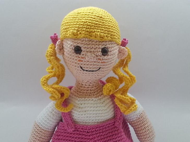 Puppe Peggy - Häkelanleitung