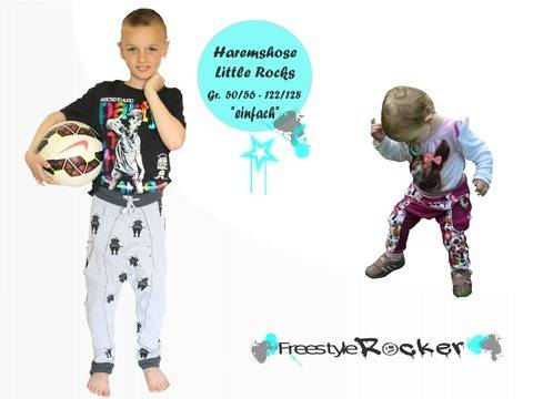 * Freestyle Rocker * Haremshose * Little Rocks * Gr. 50/56 - 122/128 bei Makerist sofort runterladen