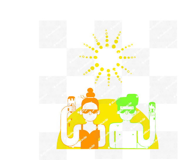 Download Couple under the sun -cutting files - Cutting Files immediately at Makerist