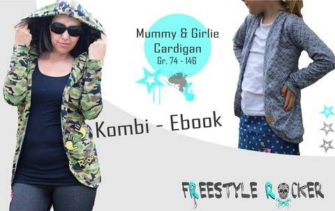 * Freestyle Rocker * Mummy/Girlie Cardigan * Kombi - Ebook * bei Makerist sofort runterladen