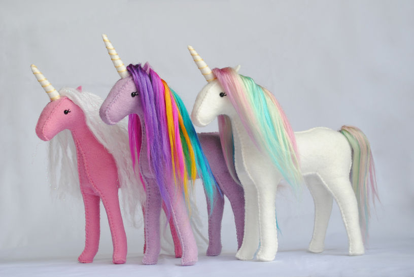 Download Stuffed Unicorn Sewing Pattern - Sewing Patterns immediately at Makerist