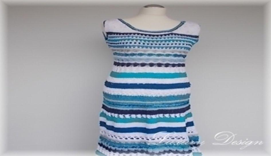 Sommerkleid Größe S-XL *Luxury Design No.25* - Strickanleitungen bei Makerist sofort runterladen