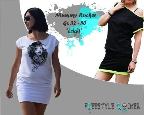 Freestyle Rocker * Mummy Rocker * Oversizekleid bei Makerist sofort runterladen