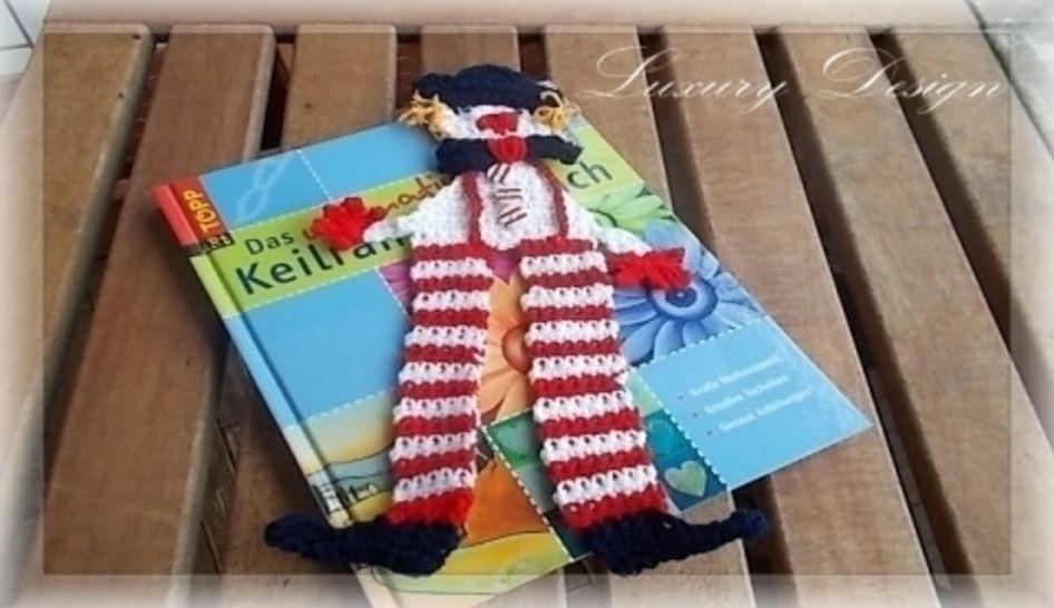 Lesezeichen *Book Style No.2* - Häkelanleitungen bei Makerist sofort runterladen