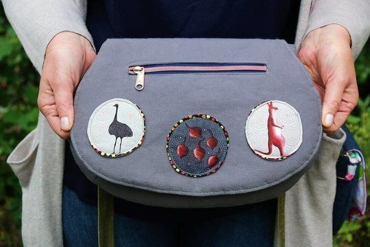 Download The Red Rocks Purse Sewing Pattern - Sewing Patterns immediately at Makerist
