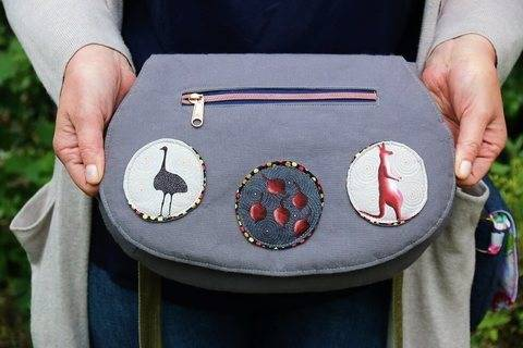 Download The Red Rocks Purse Sewing Pattern immediately at Makerist
