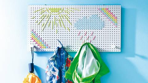 Quietschbunte Allwetter-Garderobe Stickanleitung bei Makerist sofort runterladen
