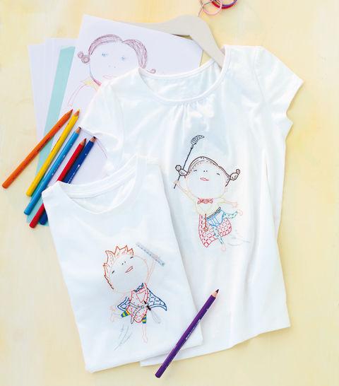T-Shirts für Alltagssuperhelden Stickanleitung - Stickmuster bei Makerist sofort runterladen