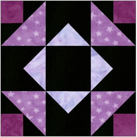 Download Independence Star 15 Inch Block Template Quilting Pattern - Patchwork & Quilting immediately at Makerist