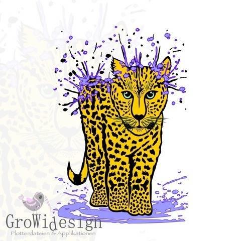 Leopard Plotterdatei bei Makerist sofort runterladen
