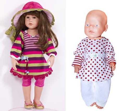 Tunika, Shrirt ULLA für Puppen, Nähanleitung und Schnittmuster bei Makerist sofort runterladen