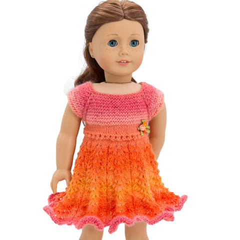 Download Summer Dress 18 inch dolls immediately at Makerist