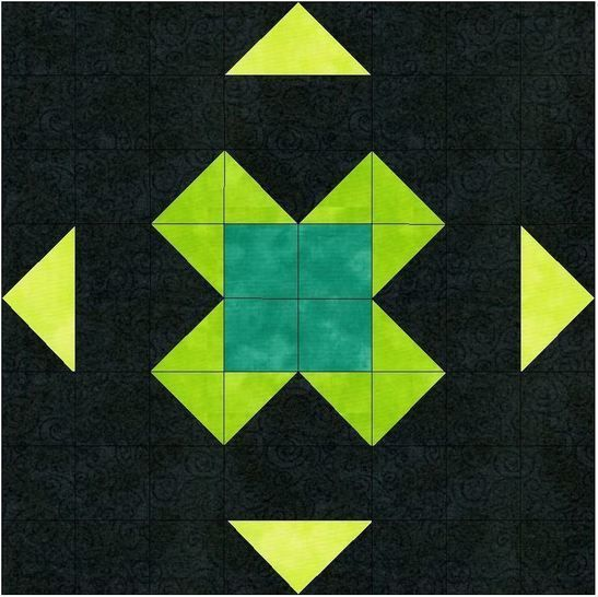 Download Find Luck Paper Piecing Foundation Quilting 10 Inch Block Pattern - Patchwork & Quilting immediately at Makerist