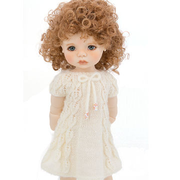 Download Doll summer dress, 18 inch dolls, doll clothes - knitting pattern - Knitting Patterns immediately at Makerist