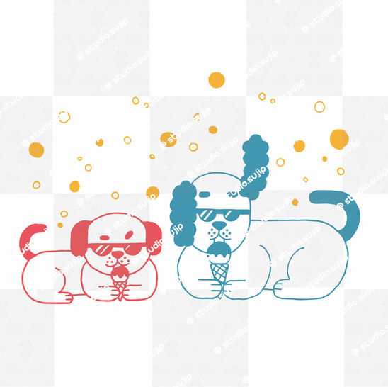 Download cool dogs_cutting files - Cutting Files immediately at Makerist