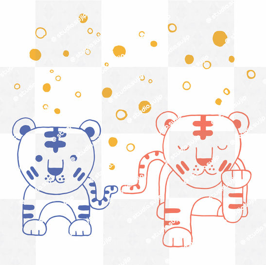 Download Cool tigers_cutting files - Cutting Files immediately at Makerist