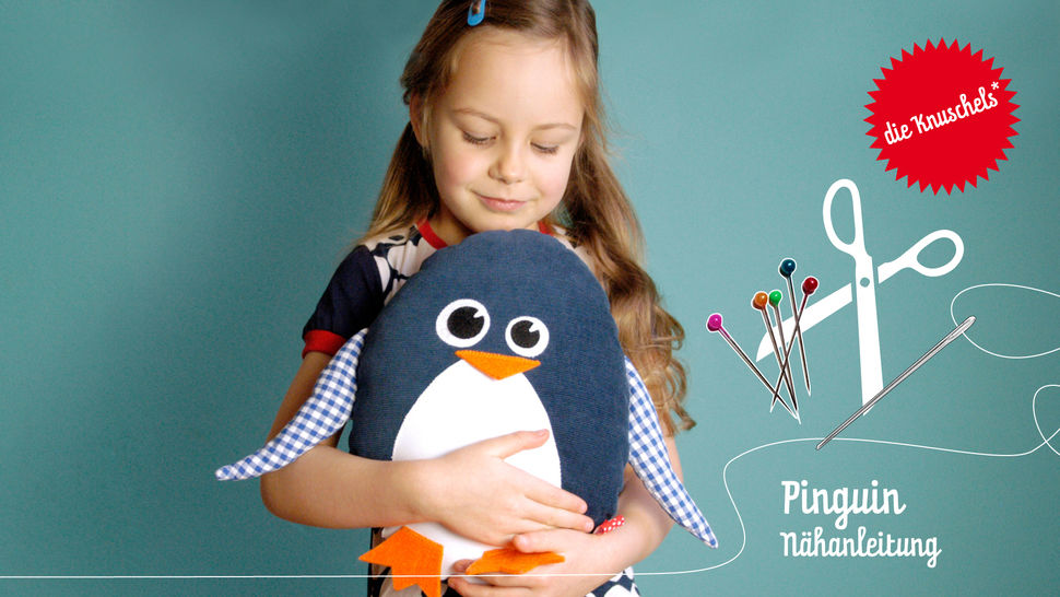 Pinguin – Nähanleitung und Schnittmuster