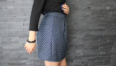 Download Nina skirt | PDF pattern size 34-48 immediately at Makerist