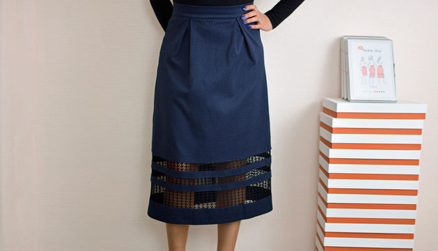 Download Nina skirt | PDF pattern size 46-58 - Sewing Patterns immediately at Makerist