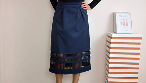 Download Nina skirt | PDF pattern size 46-58 immediately at Makerist