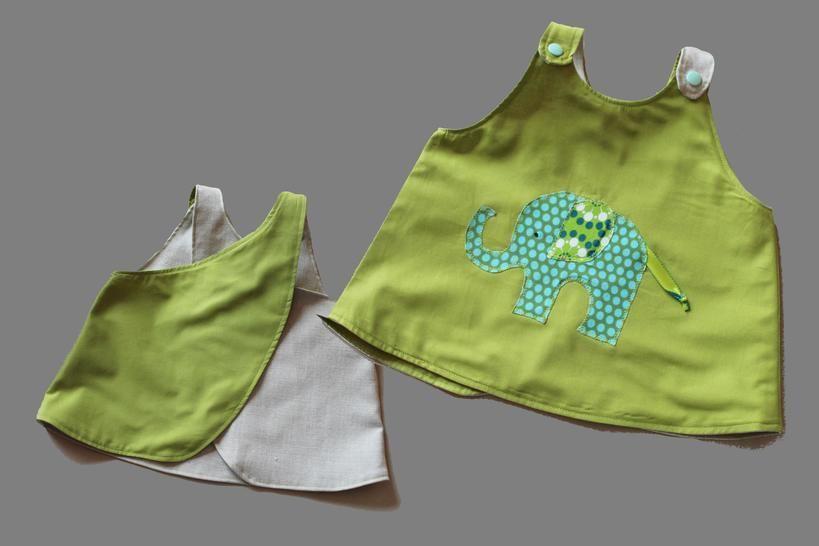 E-Book Nähanleitung Baby Schürze Hängerle Puppenschürze - Nähanleitungen bei Makerist sofort runterladen