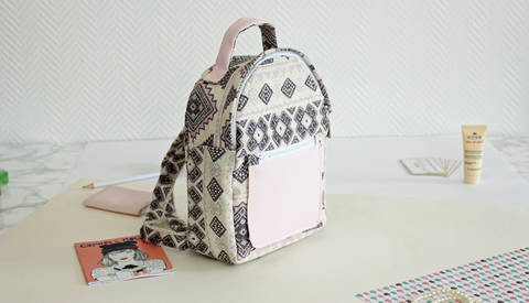 Download Lara backpack | PDF pattern immediately at Makerist
