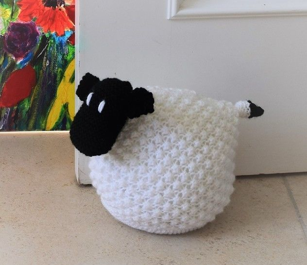 Download Sheep Doorstop - Knitting Patterns immediately at Makerist