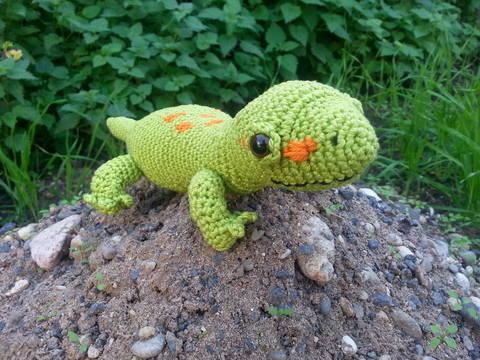 Gecko Gary - Häkelanleitung bei Makerist sofort runterladen