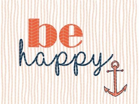 "Plotterdatei ""be happy"" DXF PNG SVG - Herzideen bei Makerist sofort runterladen"